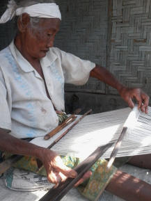 the oldest women with handmade