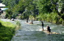 Borneo river cross